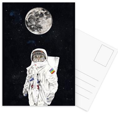 Spacecat ansichtkaartenset
