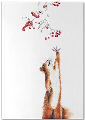 Squirrel Carnet de note