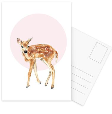 Bambi ansichtkaartenset