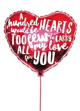 Heart Balloon Canvas print