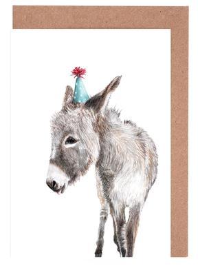Esel Set de cartes de vœux