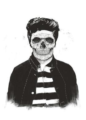 Death Fashion Impression sur toile