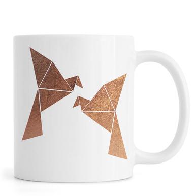 Vogel Kupfer Mug