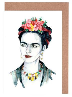 Frida Kahlo Set de cartes de vœux