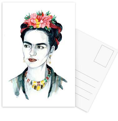 Frida Kahlo Set de cartes postales