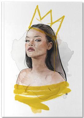 Rihanna Carnet de note