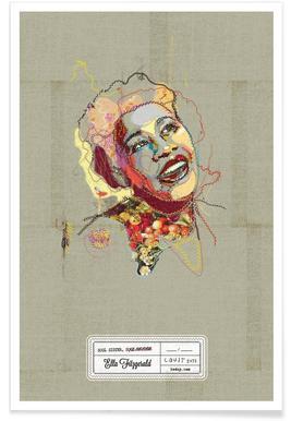 Ella Portrait -Poster