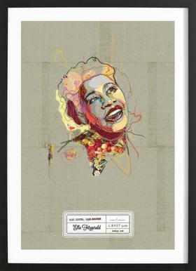 Ella Portrait ingelijste print