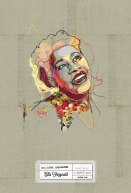 Ella Portrait acrylglas print
