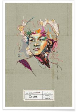 Etta Portrait poster