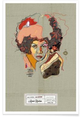 Minnie Portrait poster