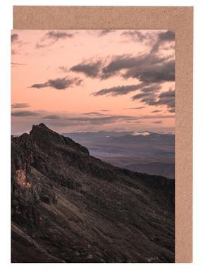 Raw 7 Huaraz Colombia Set de cartes de vœux