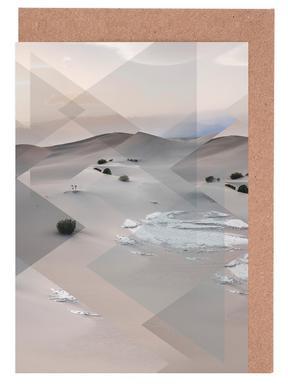 Scattered 3 Death Valley Set de cartes de vœux