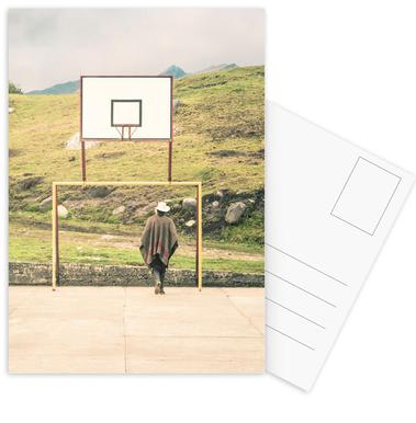 Streetball Courts 2 El Cocuy Colombia Postkartenset