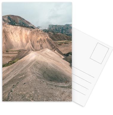 Raw 7 Landmannalaugar (Iceland) ansichtkaartenset
