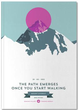 Mount Everest Pink Notitieboekje