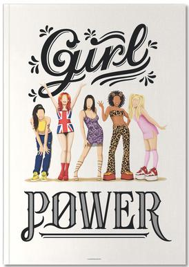 Girl Power Carnet de note