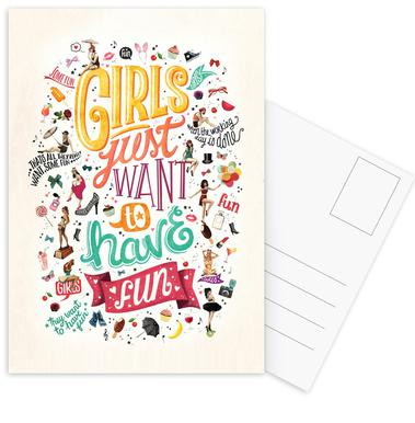 girls just want to have fun draw me a song project als premium rh juniqe de