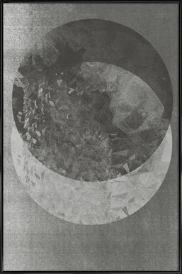 Two Moon Framed Poster