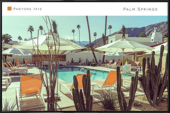 Palm Springs 7413 Framed Poster