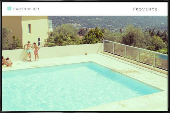 Provence 331 Affiche sous cadre standard