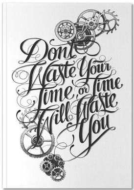 Don't waste hand-lettering Notebook