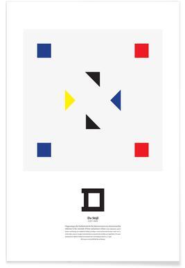 D - De Stijl Poster