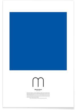 M - Minimalism Poster