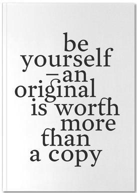 Be yourself Notitieboekje