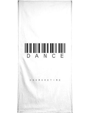 Barcode DANCE Bath Towel