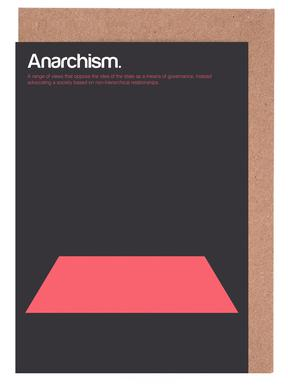 Anarchism Greeting Card Set