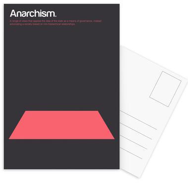 Anarchism Set de cartes postales