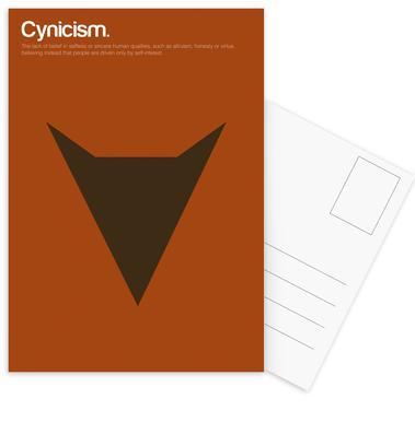 Cynicism cartes postales