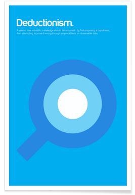 Deductionism - Minimalistic Definition Poster