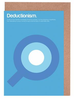 Deductionism Greeting Card Set