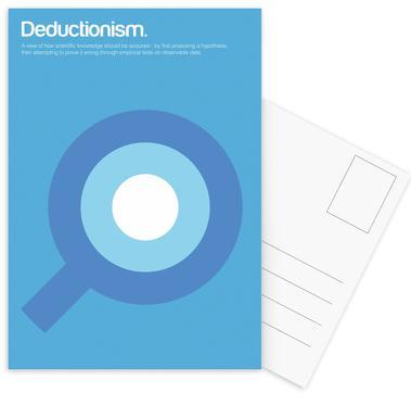 Deductionism cartes postales