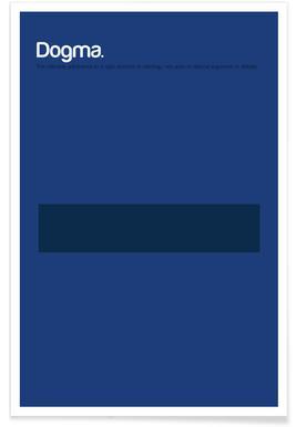 Dogme - Definition minimaliste affiche