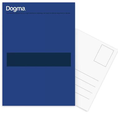 Dogma Set de cartes postales