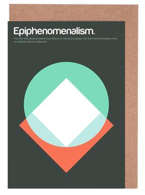 Epiphenomenalism -Grußkarten-Set