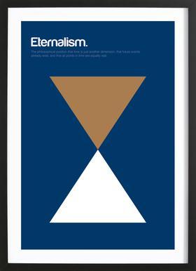 Eternalism affiche sous cadre en bois