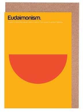 Eudaimonism -Grußkarten-Set