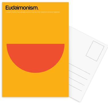 Eudaimonism -Postkartenset