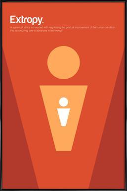 Extropy Framed Poster