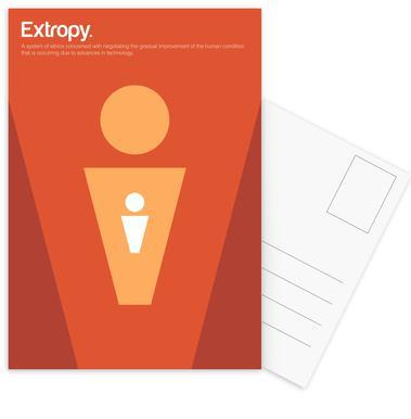 Extropy Set de cartes postales