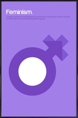 Feminism Framed Poster