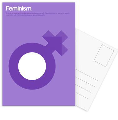 Feminism cartes postales
