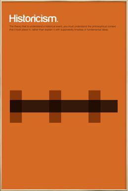 Historicism -Poster im Alurahmen