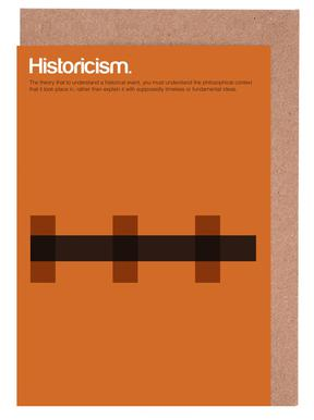Historicism -Grußkarten-Set