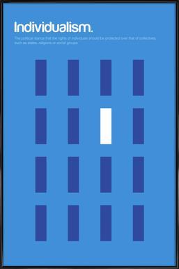 Individualism Framed Poster