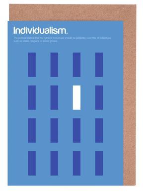 Individualism Greeting Card Set